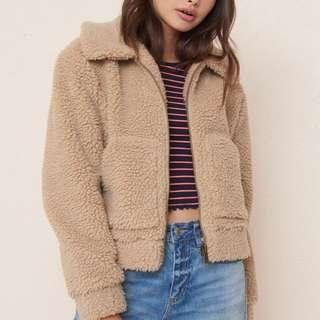 Garage Teddy Sherpa Jacket