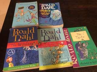 Roald Dahl Story Books