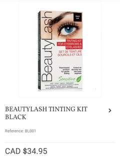 Beautylash eyebrow and eyelash tinting kit NIB!