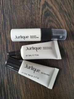 Jurlique Rosewater Mist / Herbal Recovery Serum / Lip Care Balm