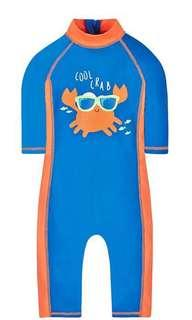 Mothercare Crab Swimsuit