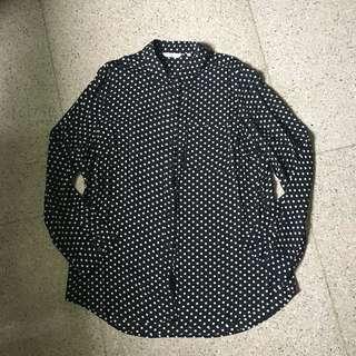 NEW LOOK polkadot shirt/kemeja/atasan #onlinesale #onlineparty