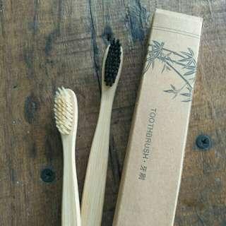 Bamboo Toothbrush (Sikat Gigi Eco Friendly)