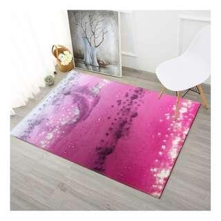 Velvet feel Rugs Design ( B ) 160x230cm