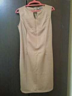 Fit Sleeveless Dress #CNY888