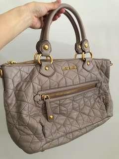 081573c86571 Pre loved Miu Miu Handbag