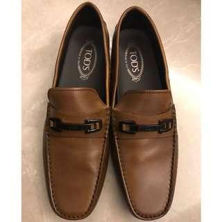 Tod's leather loafers NEW