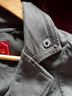 Edc by Esprit Military Green Blazer Jacket