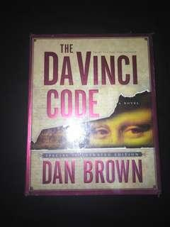 The Da Vinci Code by Dan Brown (Special Illustrated Edition, Hardbound)