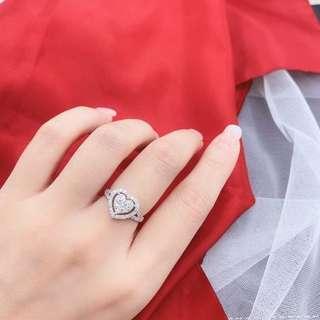 18K ❤️鑽石戒指