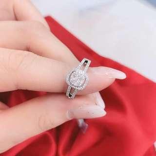 18K 鑽石 戒指