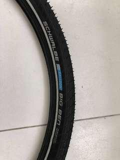 Tyres / Tires Schwalbe Big Ben 27.5 x 2.00 / 650B 50-584 Wire Bead