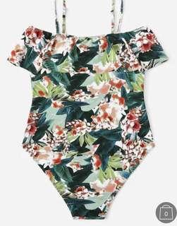 Women's swimsuit XL floral beach wear