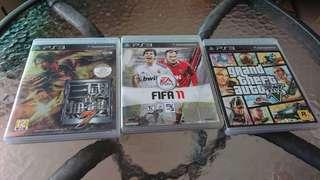 PS3 Game (只剩 FIFA 11,其他已賣)