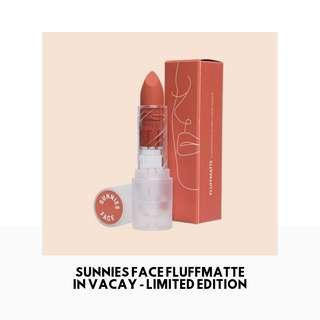 [INSTOCK] Sunnies Face Fluffmatte in VACAY - Limited Edition
