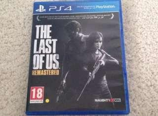WTB The Last Of Us (PS4)