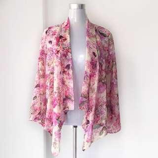 [PRELOVED] Floral Cardigan/kebaya
