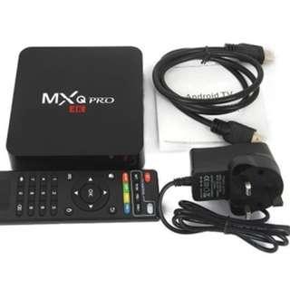MXQ Pro 4K Amlogic S905W, Android 7.1.2 (Nougat) TV BOX