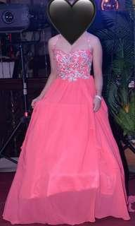 Gown for rent!