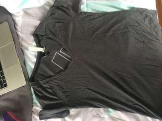 Grey adidas top