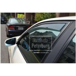 [晴雨窗] [崁入式]比德堡嵌入式晴雨窗奧迪 奧迪AUDI A4 B5/8D 1995-2001年專用 賣場多種車款車型