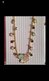 Little twin stars necklace