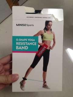 O-shape yoga resistance band - miniso