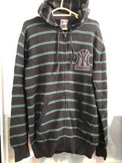 MLB NEW YORK YANKEES 冷衫 USED SIZE L