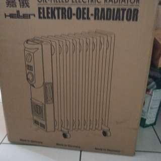 嘉儀電暖器KE210TF(葉片10)