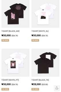 (PO)BTS WORD TOUR LOVE YOURSELF IN SEOUL OFFICIAL MERCH