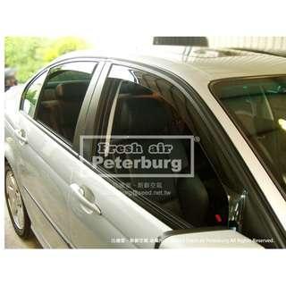 [晴雨窗] [崁入式] 比德堡嵌入式晴雨窗  寶馬BMW 5 Series E39/4D  1995-2003專用賣場