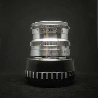 Carl Zeiss Jena Biotar 5.8cm f2 17 blades - Sony Fuji Olympus
