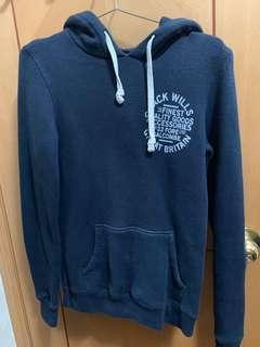 Jack wills hoodie - navy 衛衣