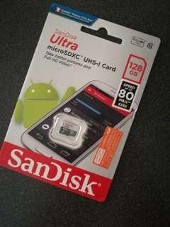 SanDisk Ultra 128GB Micro SD Card