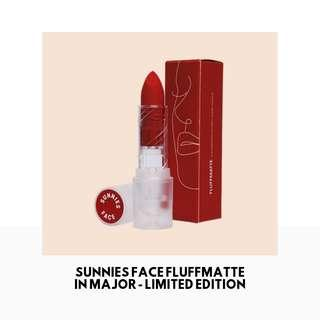 [INSTOCK] Sunnies Face Fluffmatte in MAJOR - Limited Edition
