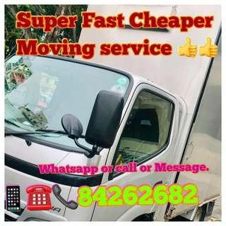 Movers & Delivery and Disposal Service.