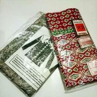 Bahan kain batik untuk wanita dan pria
