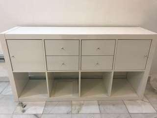 Shelf & drawers