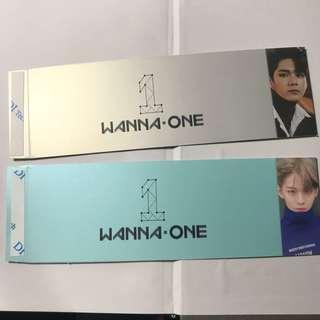 wts wanna one power of destiny sleeves