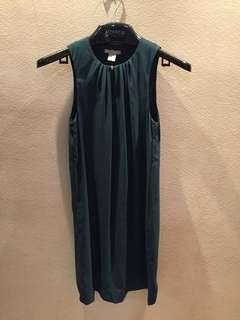 H&m emerald green dress
