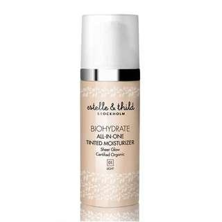 ESTELLE AND THILD BIOHYDRATE ALL IN ONE TINTED MOISTURISER (LIGHT)
