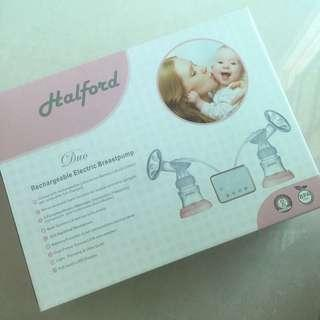 Halford Duo Rechargeable Electric Breastpump