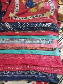 Vintage bandana American accessories