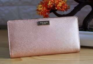 KATESPADE WALLET ROSEGOLD Authentic
