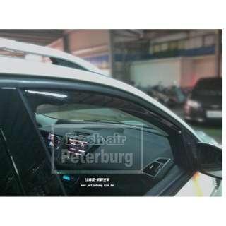 [晴雨窗] [崁入式] 比德堡崁入式晴雨窗 福特FORD KUGA 2013年起專用 原廠品質