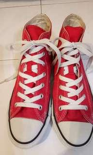 High cut Converse All Star#CNYRED