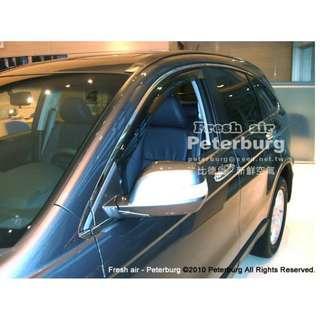 [晴雨窗] [崁入式] 比德堡崁入式晴雨窗本田HONDA─New CR-V 三代 2007-2011年專用
