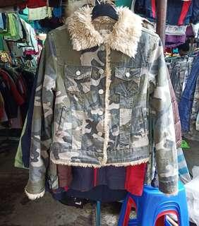 Size M sherpa camo