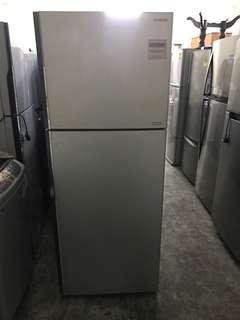 Hitachi 395l 2 door fridge / refrigerator