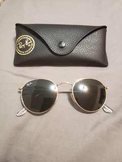 RayBan RB3477 round sunglasses